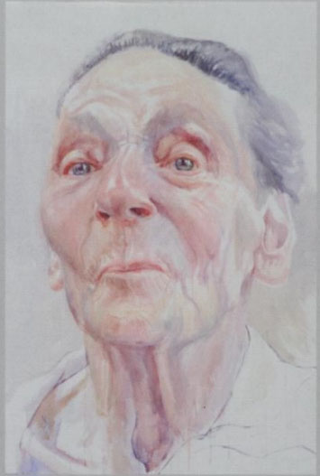 portret in aquarel door Herman van Hoogdalen,- expositie in PK 19 okt tm 18 nov 2018